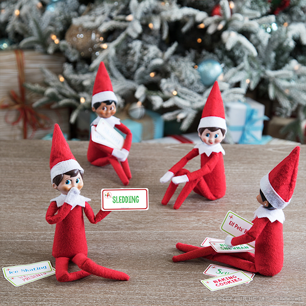 elves playing charades