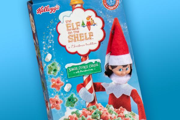 Cereal and Pajamas Elf Idea