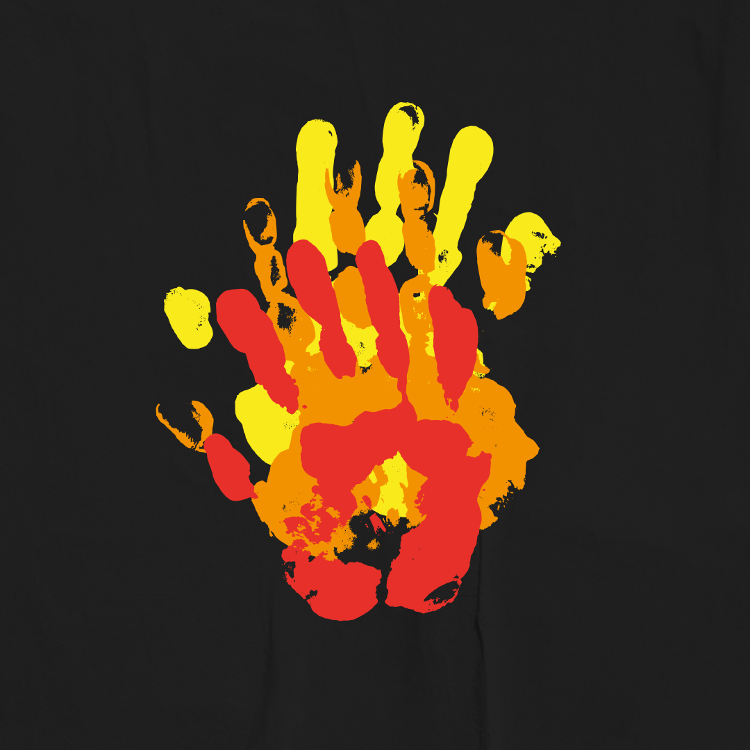 handprint-bonfire-craft