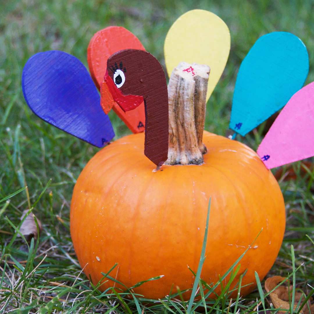 No-Carve Pumpkin Animals 2