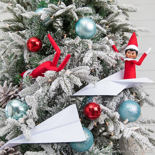 Elfs on a Christmas tree