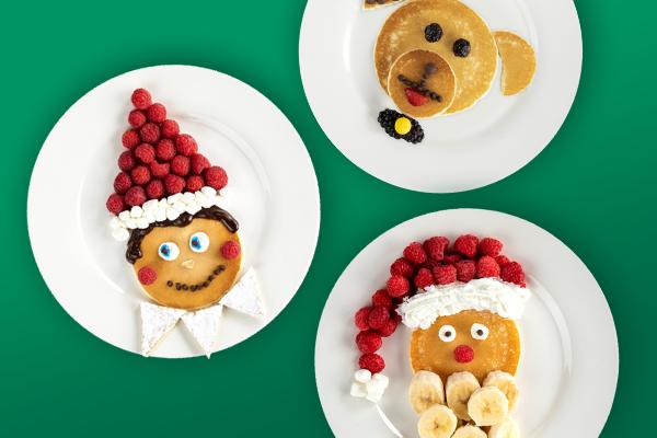 Pancake Party Menu