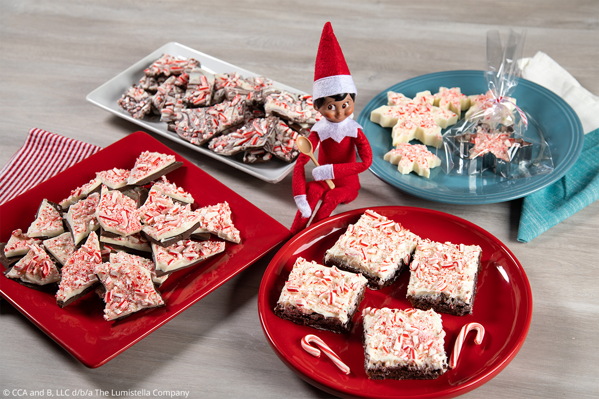 All Peppermint Barks and Elf
