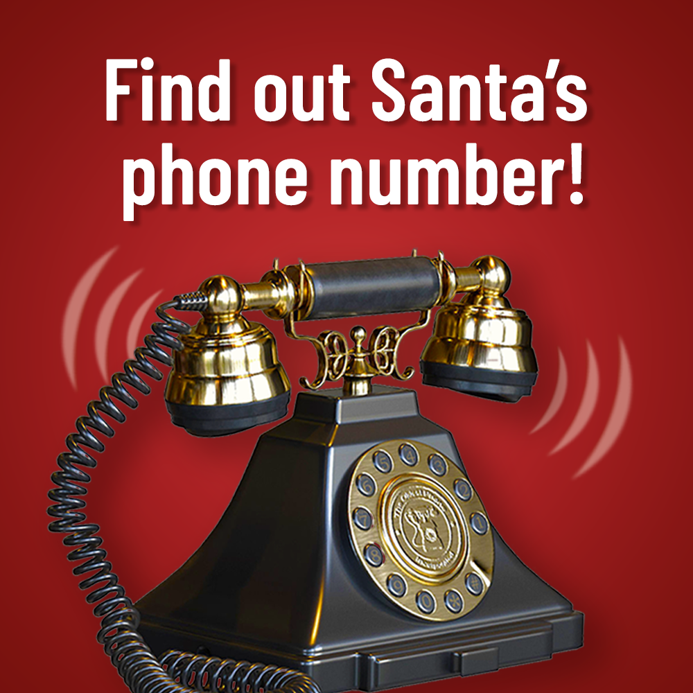 Find out Santa's phone number