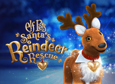Elf Pets Santa's Reindeer Rescue