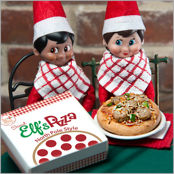 North Pole Style Pizza