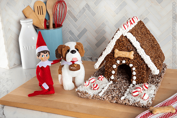 Coco Pops Cottage - The Elf on the Shelf
