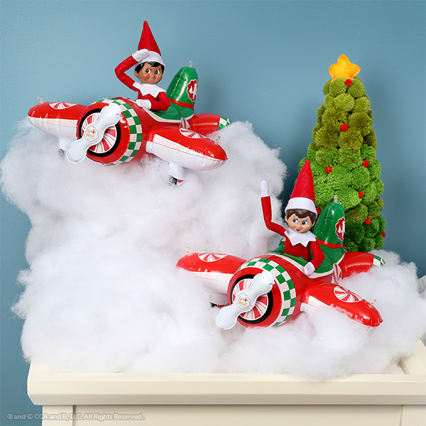 Elves in inflatable airplanes