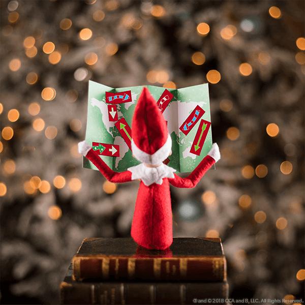 Elf on the Shelf Departure Ideas