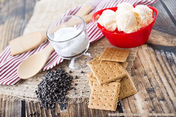 No-Fuss Frozen S'mores Recipe from The Elf on the Shelf