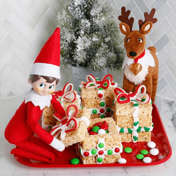 Rice Krispies Treat Box - The Elf on the Shelf