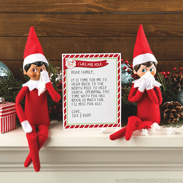 Ways to Say Goodbye To Your Elf