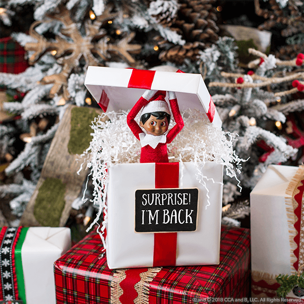 How Do I Get My Scout Elf to Come Back Early? - The Elf on the Shelf