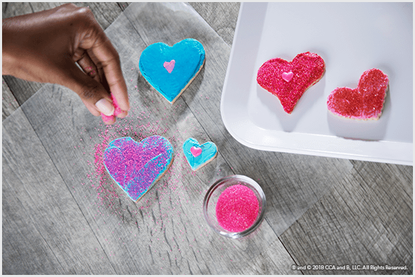 Valentine's Day Cookies - The Elf on the Shelf
