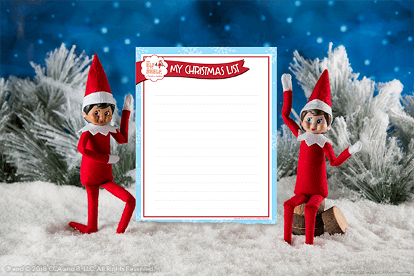 Write Your List to Santa!