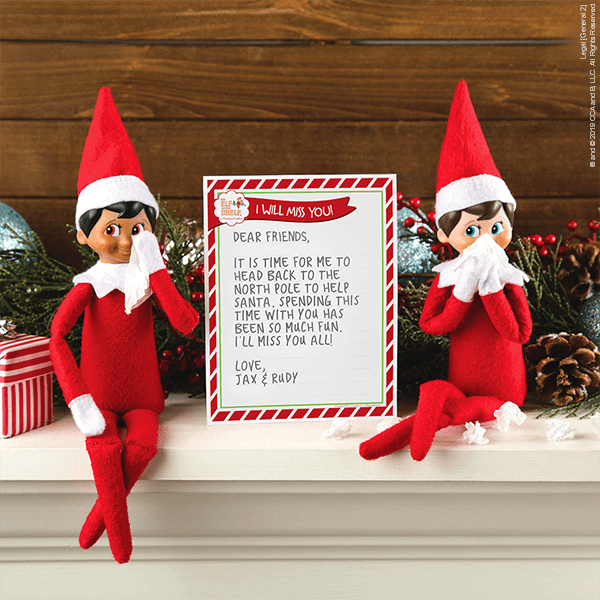 Elf on the Shelf Classroom Ideas