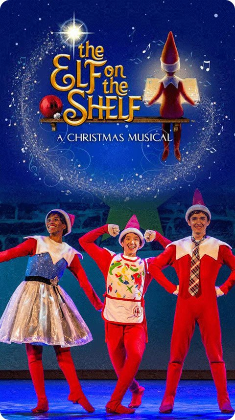 Scene from The Elf on the Shelf: A Christmas Musical