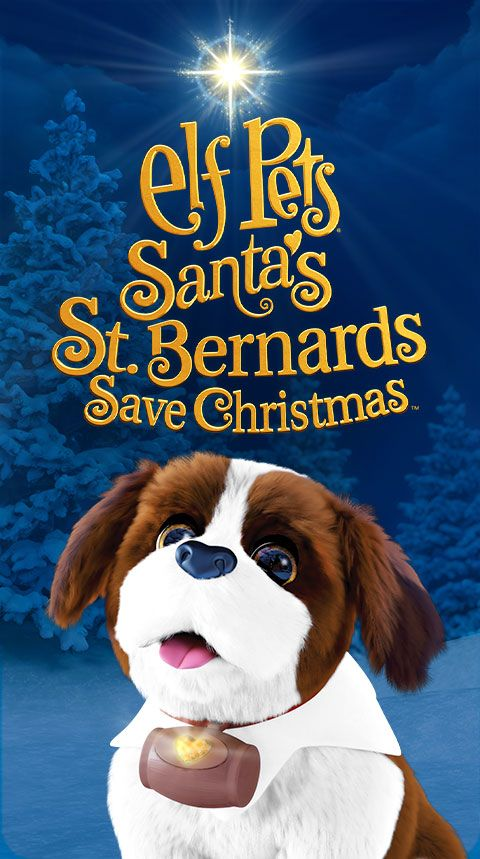 Elf Pets: Santa's St. Bernards Save Christmas animated special poster