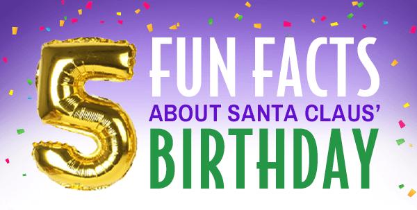 Fun Facts about Santa's Birthday header