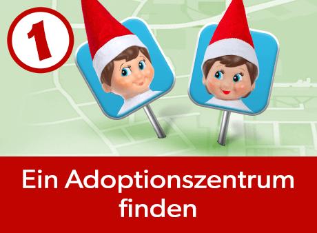 Ein Adoptionszentrum finden