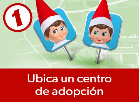 Ubica un centro de adopción