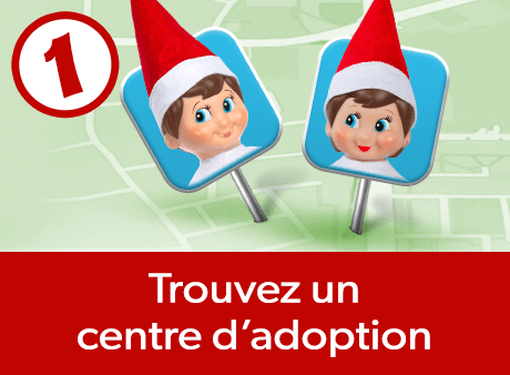 Trouvez un centre d'adoption