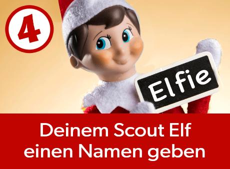 Deinem Scout Elf einen Namen geben
