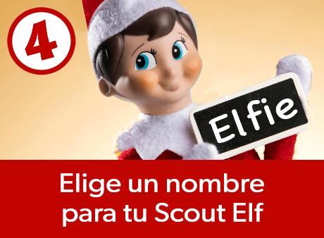 Elige un nombre para tu ScoutElf