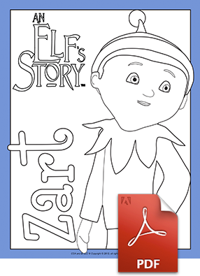 Zart Coloring Page