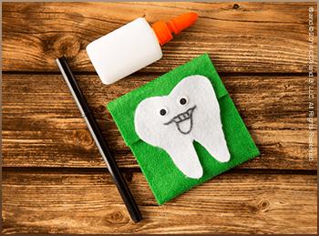 Scout Elf Craft Corner: DIY Tooth Fairy Tote