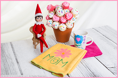 The Elf on the Shelf's Mother's Day DIY Tea Party