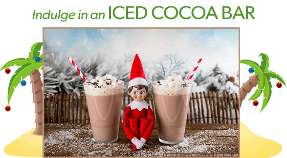 Christmas in July Ideas from The Elf on the Shelf