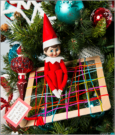 Scout Elf Return Week Idea: Make a Landing Net!