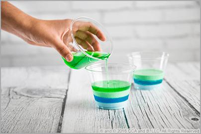 St. Patrick's Day Rainbow Gelatin Cups – The Elf on the Shelf