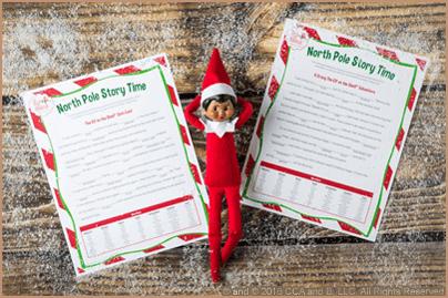 Scout Elf Craft Corner: North Pole Storytelling Printables