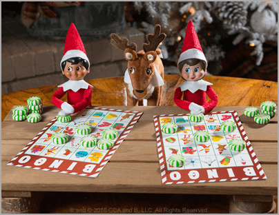 Games on the Go –The Elf on the Shelf