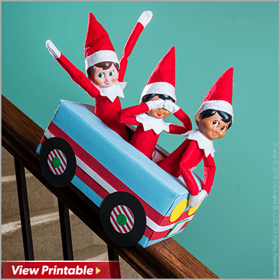 Clever Ideas for Creative Elves – The Elf on the Shelf