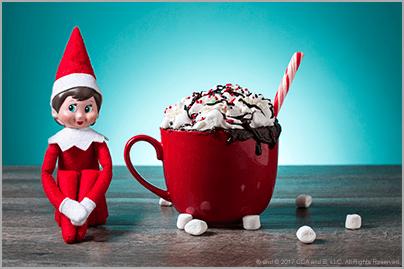 Microwave Chocolate Mug Cake – The Elf on the Shelf