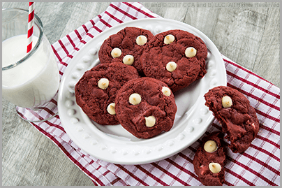 Rich Red Velvet Chocolate Chip