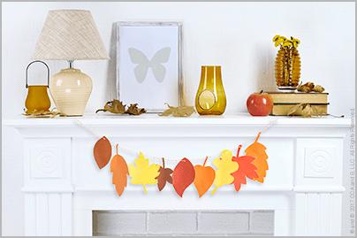 Festive Fall Garlands – The Elf on the Shelf
