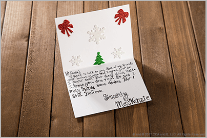 Messages About Believing Letters to Santa – The Elf on the Shelf