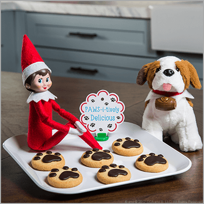 Christmas Cookie Guide - The Elf on the Shelf