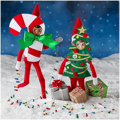 Ha Ha Holiday Costumes - Funny Elf on the Shelf Ideas