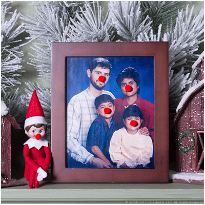 Clownin' Around - Funny Elf on the Shelf Ideas