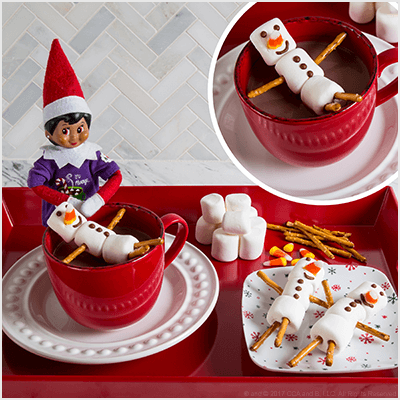 Christmas Desserts for Kids - The Elf on the Shelf