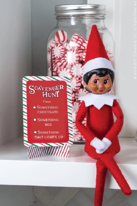 Candy Quest - Imaginative Elf on the Shelf Ideas - The Elf on the Shelf