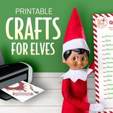 Printable Crafts for Elves