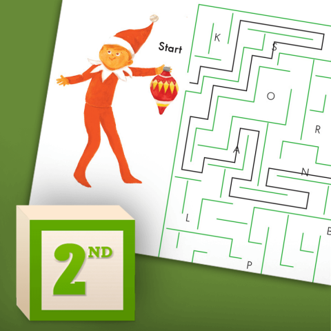 Letter Hunt Maze