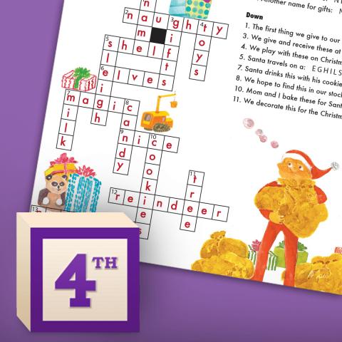 Crossword Puzzle + Scramble