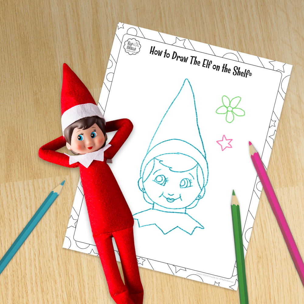 Learn How to Draw The Elf on the Shelf® | The Elf on the Shelf